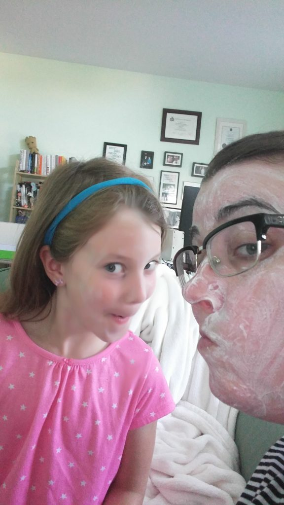 Mother-daughter skin care