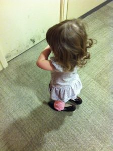 Found mommy's shoes