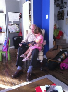 Throwing in a picture of my 93-year-old Gramps reading to my 3 year old, because it's an awesome thing.