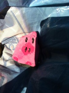 She told me to paint a piggy