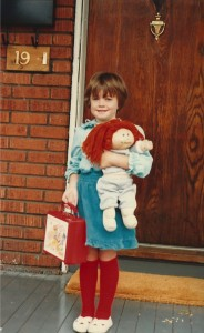 A little #ThrowbackThursday for you: My first day of school
